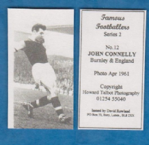 Burnley John Connelly England 12